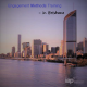 Photo of Brisbane skyline filtered purple with text saying Engagement Methods Training in Brisbane and the IAP2 logo